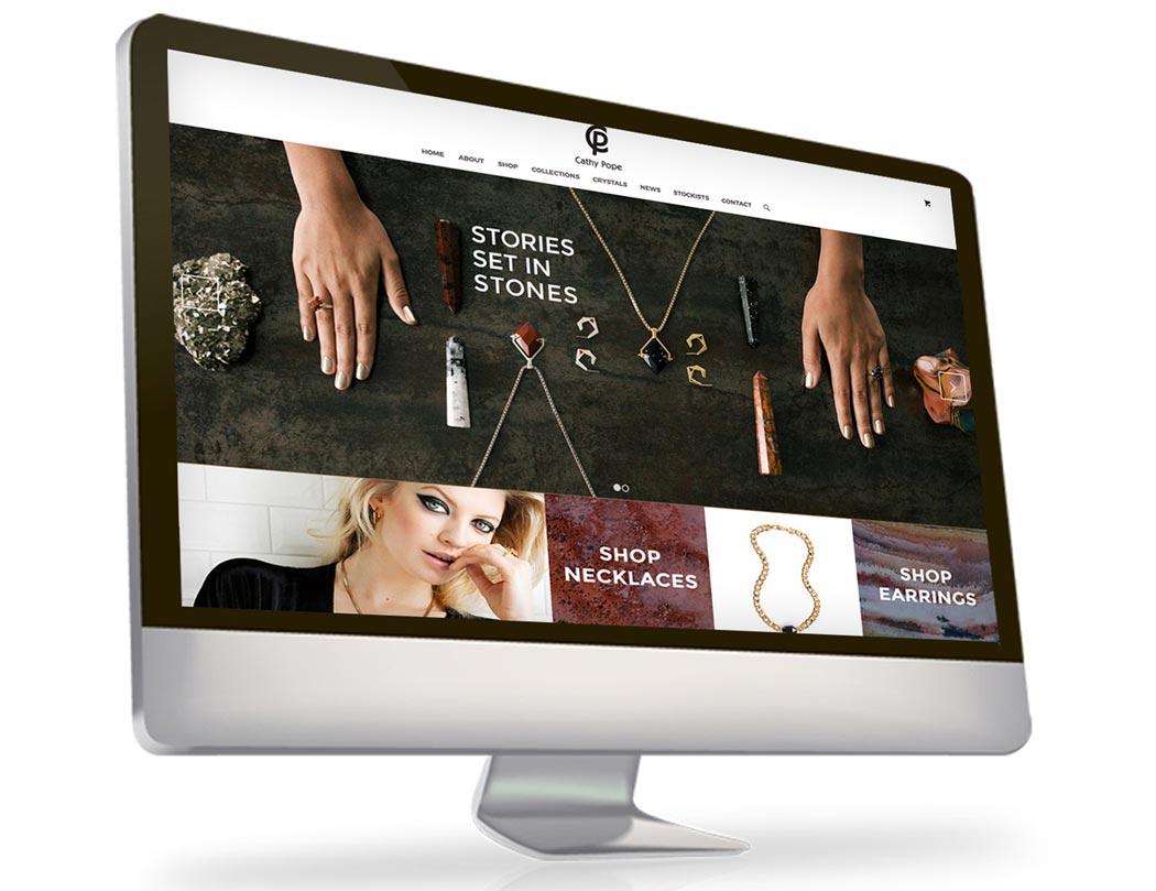 Website Design Cathy Pope