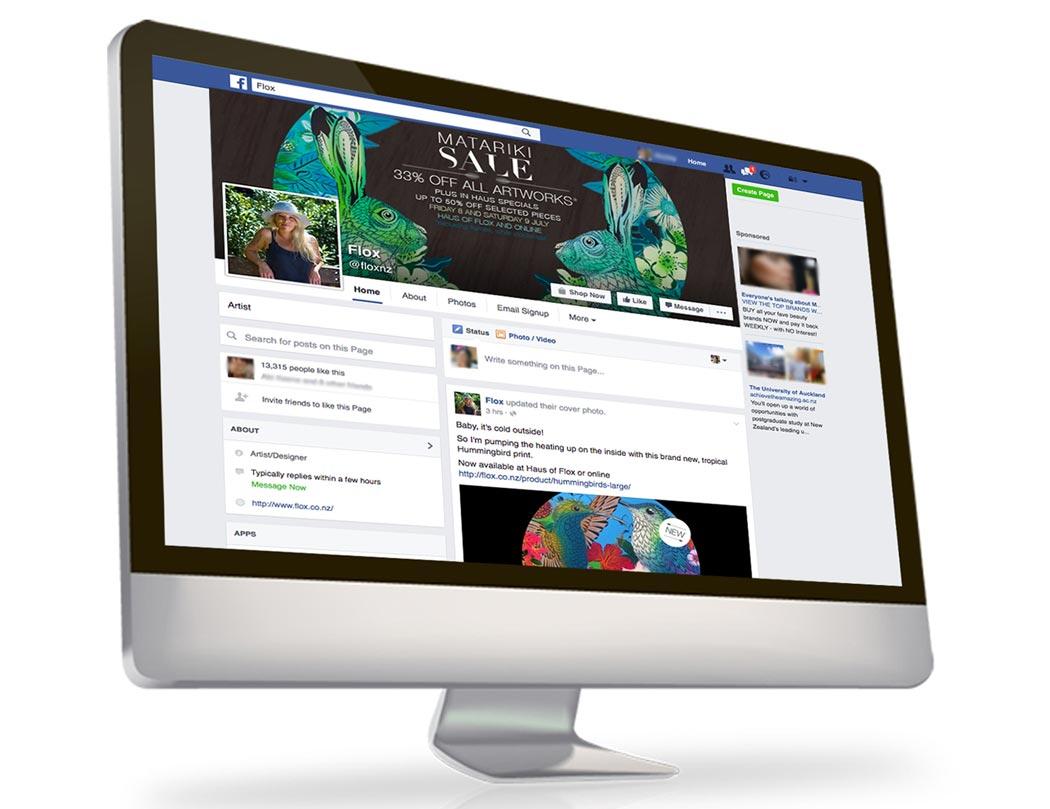 Flox Design Social Media Management