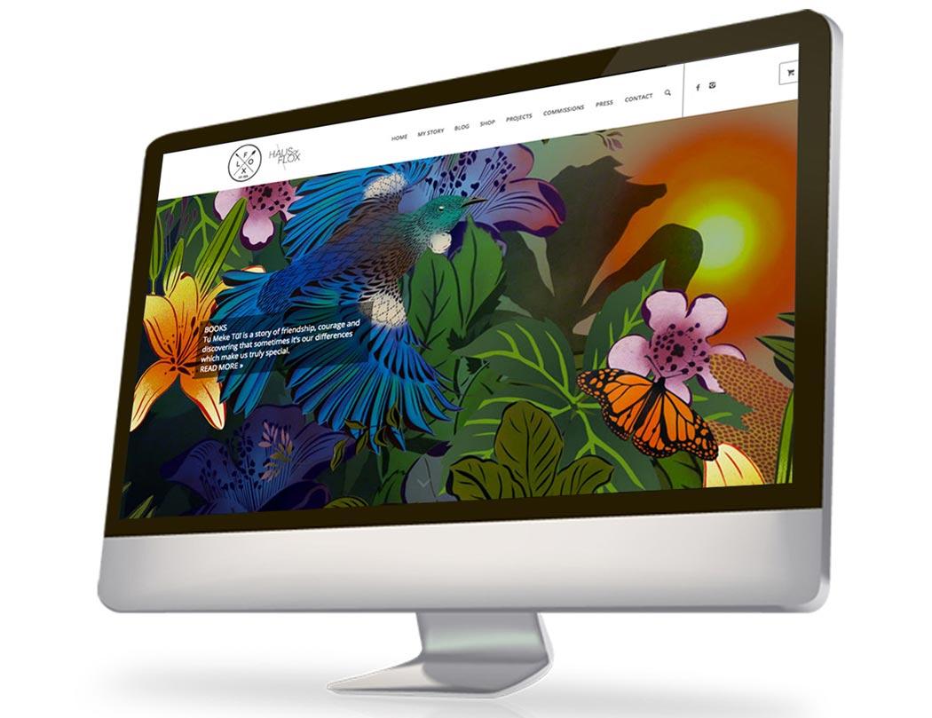 Flox Design Website