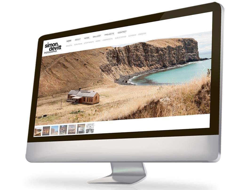 Simon Website Design