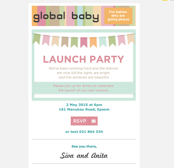 GLO Launch Invite