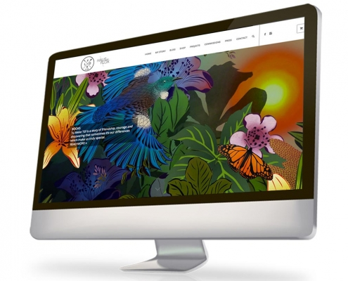 Flox Design Website