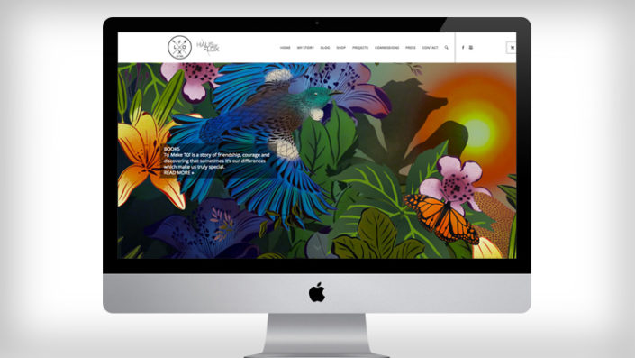 Flox website by Tanker Creative