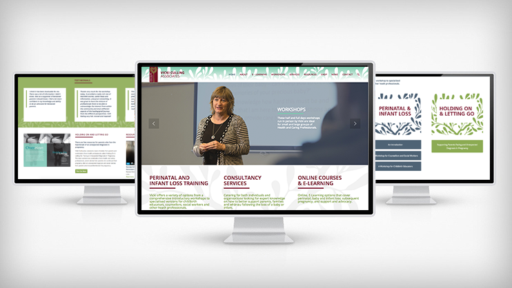 Vicki Culling Associates website by Tanker Creative