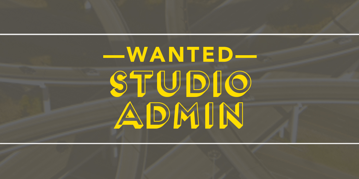 Situations Vacant Studio Administrator Wanted Christchurch New Zealand