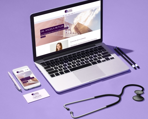 Dr Angela Butler Website Case Study