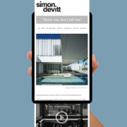 Simon Devitt Mailchimp newsletter August 2019