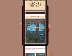 Michel Tuffery Mailchimp Newsletter 0519