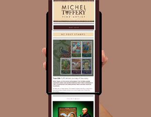 Michel Tuffery Fine Artist October 2019 Newsletter Mailchimp Tanker Creative
