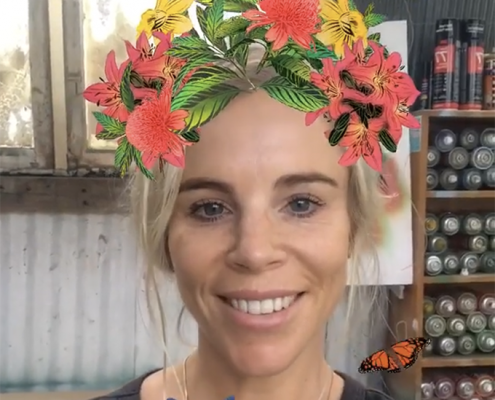 Final Flox Flower Crown