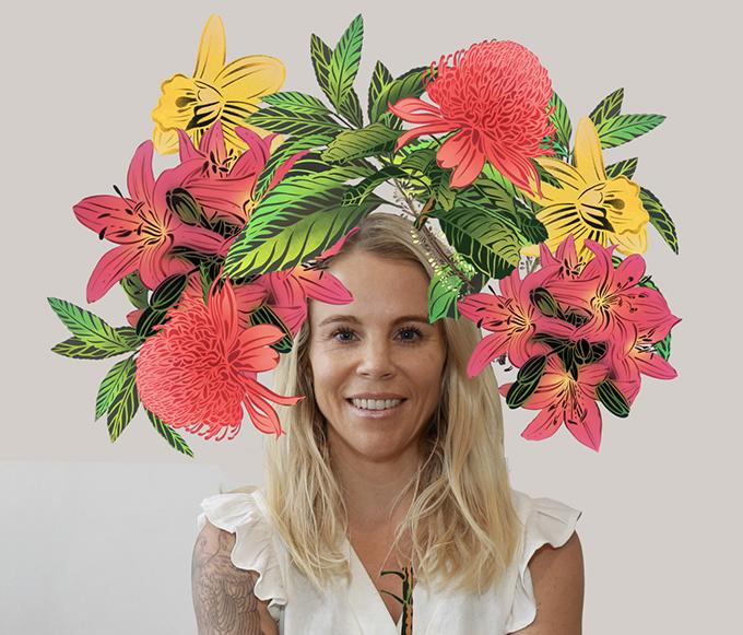 Flox Flower Crown AR Filter ideas