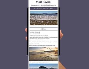 Matt Payne Mailchimp newsletter