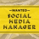 Wanted Social Media Manger