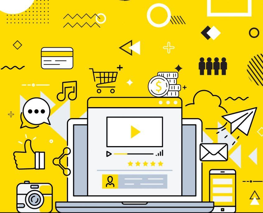 Social Commerce illustration