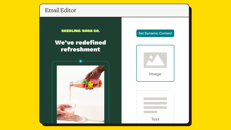 Mailchimp Email Editor